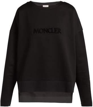 Moncler Maglia Girocollo logo-embellished sweatshirt