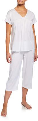 Hanro Lotta Cropped Pajama Set