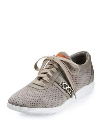 Cole Haan Bria Grand Sport Oxford Sneaker, Ironstone Gray $150 thestylecure.com