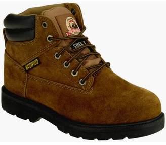 """Brahma Men's Alpha Steel Toe Waterproof 6"""" Work Boot"""