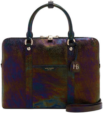 Henri Bendel West 57Th Petrol Briefcase