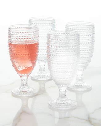 Godinger Lumina Ice Beverage Glasses, Set of 4