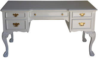 One Kings Lane Vintage White Lacquered Desk