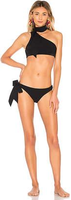 Zimmermann Jaya Tie Neck Bikini Set