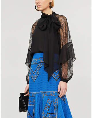 Diane von Furstenberg Mariela silk-chiffon top