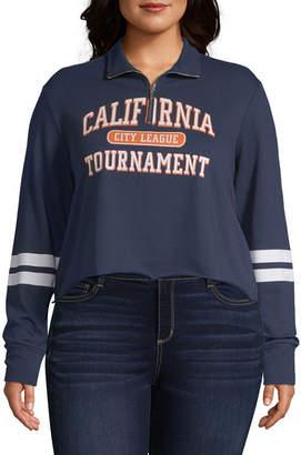 Cut And Paste California Varsity Pullover - Juniors Plu