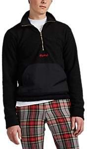 4HUNNID Men's Logo Bouclé-Knit Pullover - Black