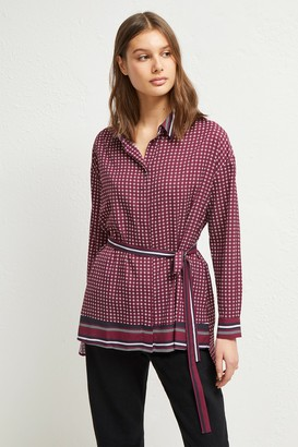 Ambra French Connenction Light Belted Shirt