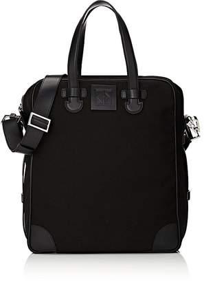 Tomasini Men's Tomaso Canvas & Leather Tote Bag