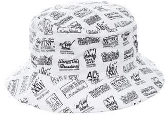 Alexander Wang Printed Bucket Hat w/ Tags
