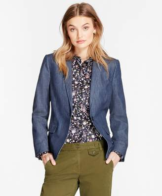 Brooks Brothers Stretch Denim Blazer