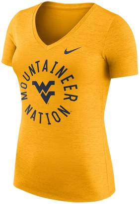 Nike Women's West Virginia Mountaineers Dri-FIT Touch Tee