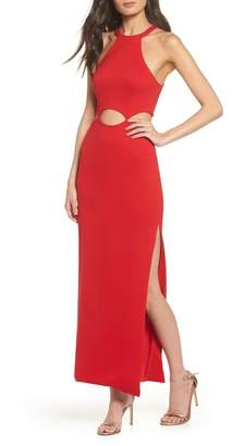 Fame & Partners The Annalise Cutout Gown