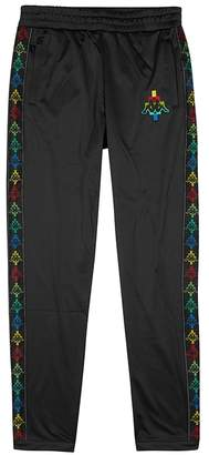 Marcelo Burlon County of Milan X Kappa Embroidered Jersey Jogging Trousers