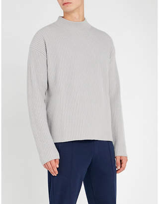 Falke Round-neck wool and cashmere-blend jumper