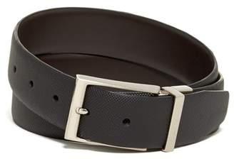 English Laundry Leather Dress Belt