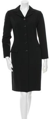 Dolce & Gabbana Virgin Wool Skirt Suit $130 thestylecure.com