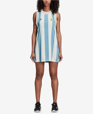 adidas Mesh Argentina Soccer Tank Dress