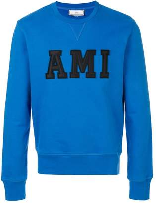 Ami Alexandre Mattiussi Sweatshirt Patched Ami Letters