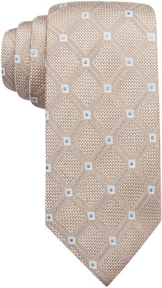 Tasso Elba Parquet Diamond Tie, Only at Macy's $59.50 thestylecure.com