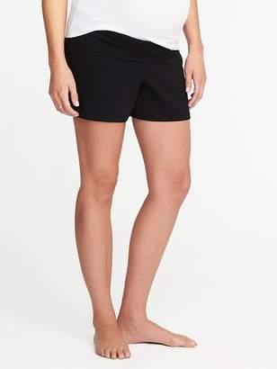 Old Navy Maternity Rollover-Waist Yoga Shorts