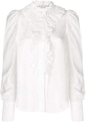 Stella McCartney ruffle trim shirt