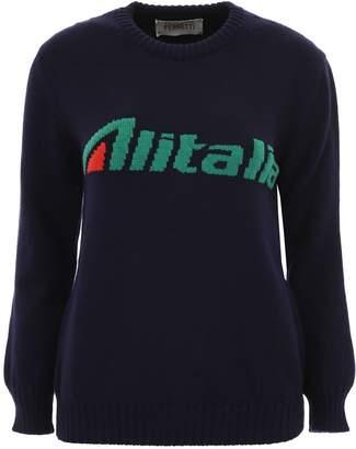 Alberta Ferretti Alitalia Pullover