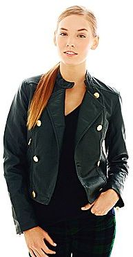 Joe Fresh Faux-Leather Motorcycle Jacket