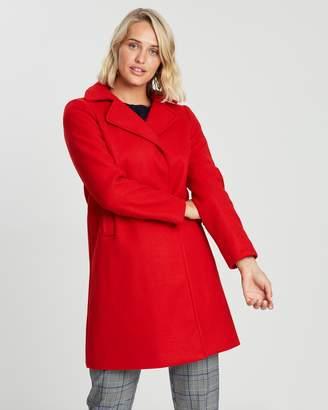 Dorothy Perkins Popper Swing Coat