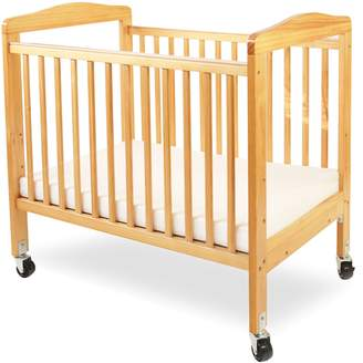 L.A. Baby Compact Non-folding Wooden Window Crib