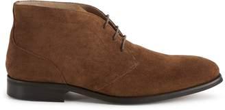 Reiss Kilter Suede Desert Boots