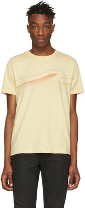 Nudie Jeans Off-White Colors Roy T-Shirt