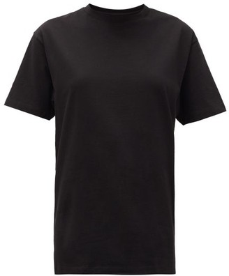 Hanes X Karla - The Original Cotton Jersey T Shirt - Womens - Black