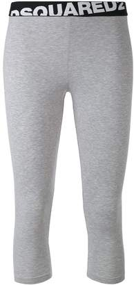 DSQUARED2 logo band leggings