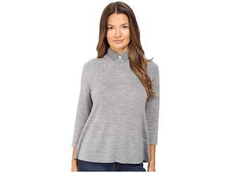 Kate Spade Collared Relaxed Sweater Women's Sweater
