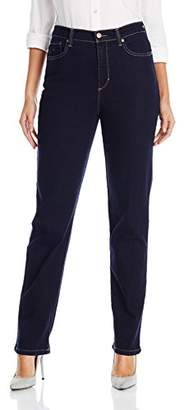 Gloria Vanderbilt Women's Amanda Tapered-Leg Jean In Rinse Wash $40 thestylecure.com