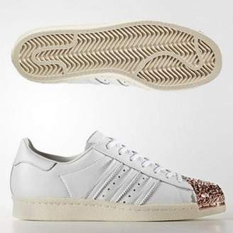 adidas Womens Superstar 80s 3D Metal Toe Trainers Adult 05