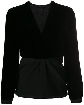Giorgio Armani V-neck blouse