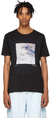UNTITLED Daniel W. Fletcher SSENSE Exclusive Black Painting 2.0 Zoom T-Shirt