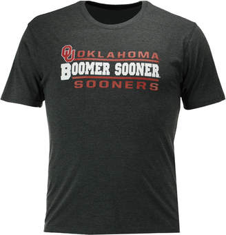 Colosseum Men's Oklahoma Sooners Verbiage Stack T-Shirt