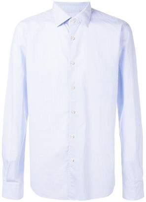 Xacus squares print shirt