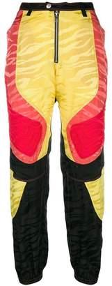 Zadig & Voltaire Zadig&Voltaire Fashion Show colour block patchwork trousers