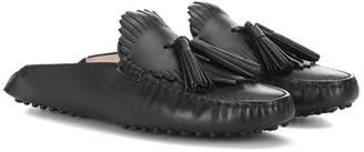 Tod's Gommino leather slippers
