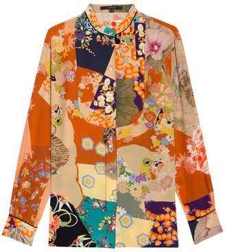 Gucci Print Blouse