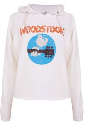 Original Retro Brand Woodstock Cropped Hoodie - XS