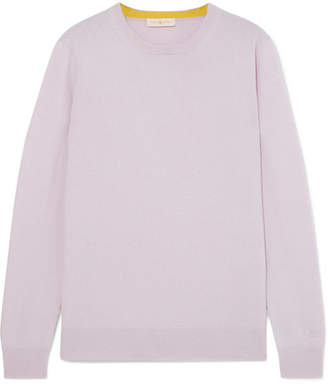 Tory Burch Bella Cashmere Sweater - Lilac