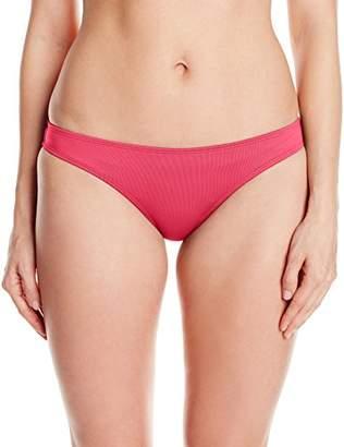 Lark & Ro Women's Basic Bikini Bottom