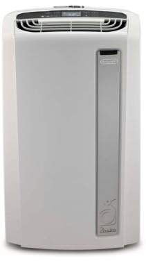 Delonghi Pinguino 14, 000 BTU Whisper Quiet Portable Air Conditioner with Heat Pump and BioSilver Air Filter