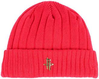 New Era Houston Rockets Badge Slick Cuff Knit