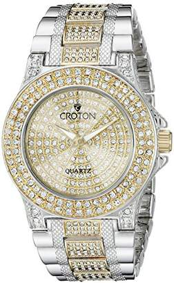 Croton Women's CN207538TTPV Balliamo Analog Display Quartz Two Tone Watch